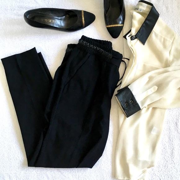 Zara Pants - Zara Black Jogger Trouser Pants  🎈Ankle or Petite